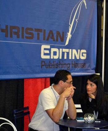 También acudieron a EXPOLIT los gerentes de la División Colombia de Christian Editing, el editor y especialista en narrativa Dr. Boris Pinto Bustamante y la diseñadora gráfica Claudia Pinilla.