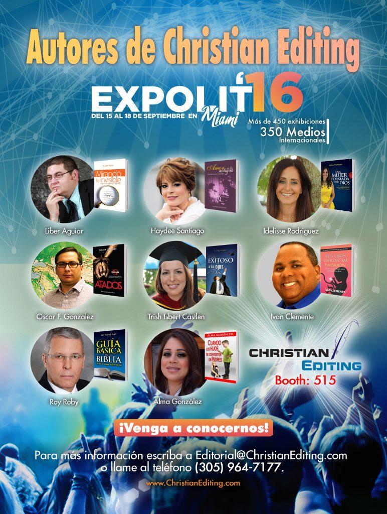 Autores de Christian Editing en Expolit 2016